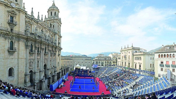 Jaen world padel tour cathédrale