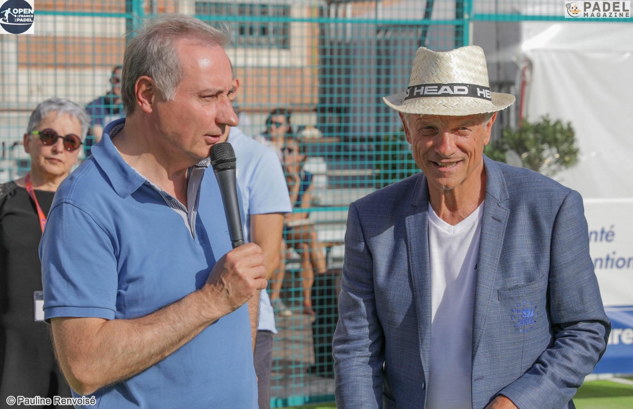 """Jean-Luc Moudenc : """"L'histoire d'amour entre l'Open de France de padel et la ville de Toulouse"""""""