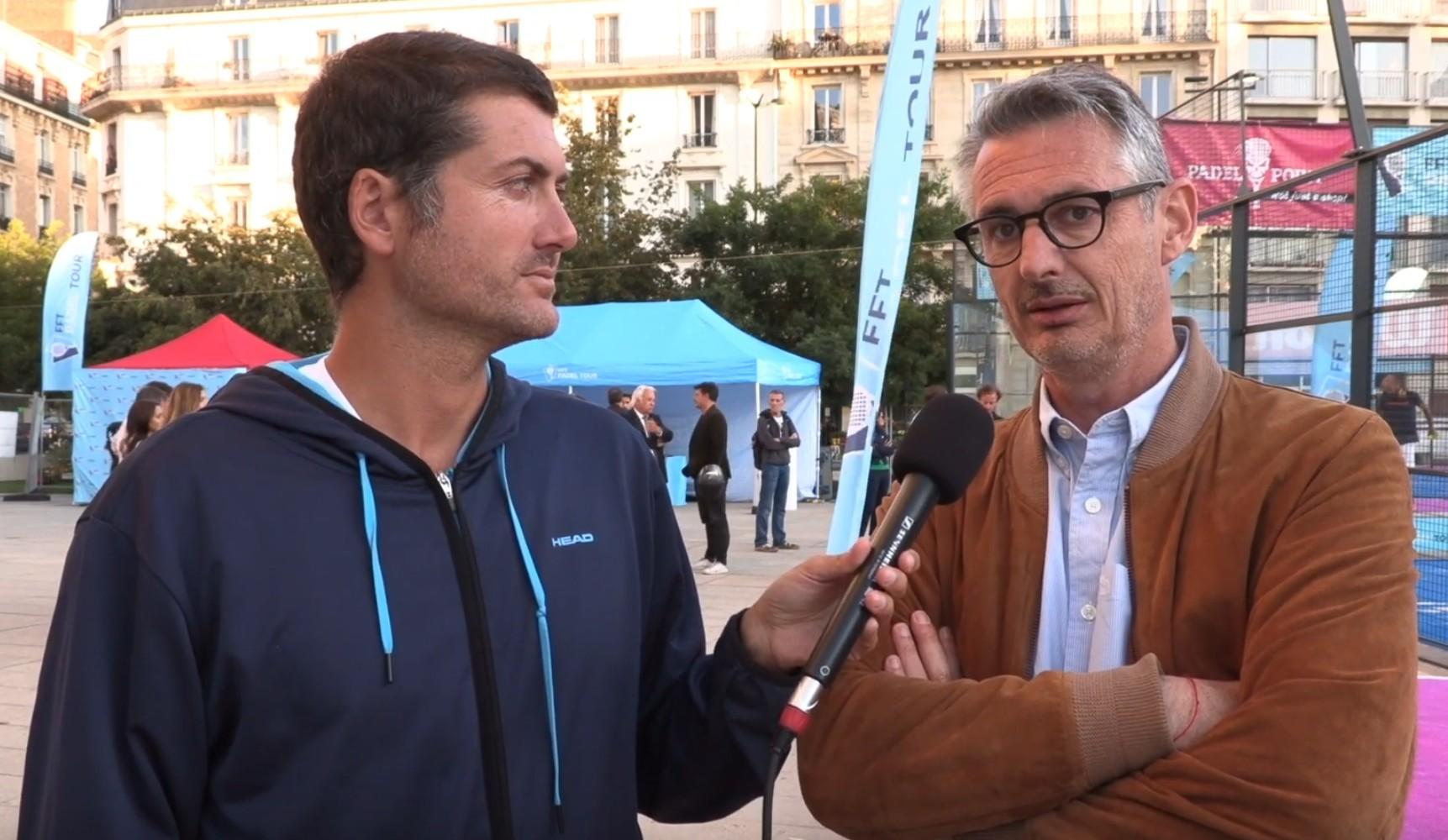 """Melchior Dejouany: """"Ein Paddelfeld in einem Hubschrauber"""""""