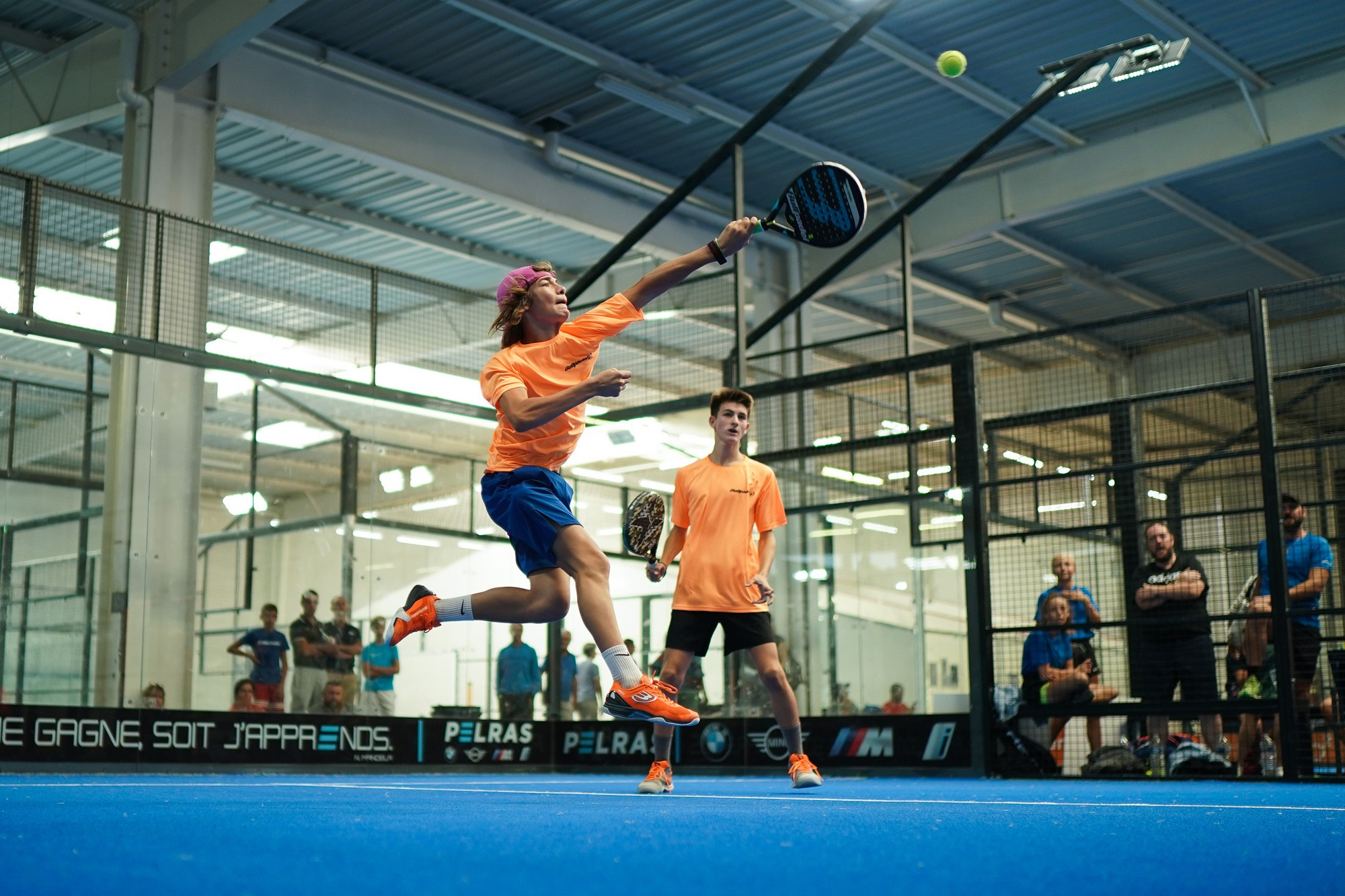 French Junior Championship padel : Hauts-de-France and Occitanie in history