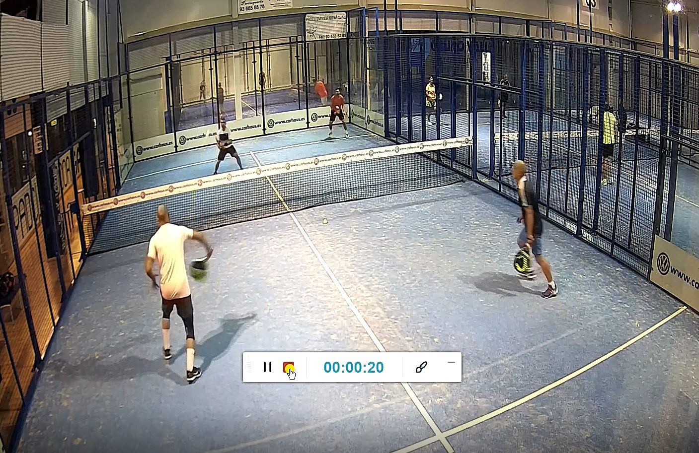 stage padel in video - OSS Barcelona