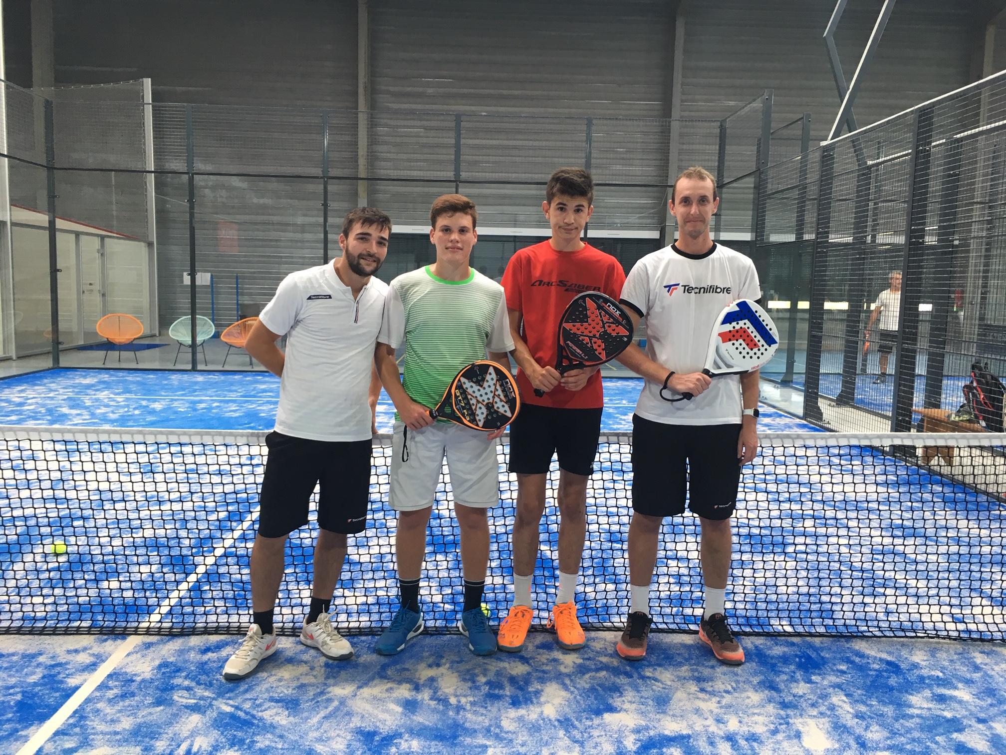"""Racket Park Amboise : """"Même avec peu d´équipes, on joue"""""""