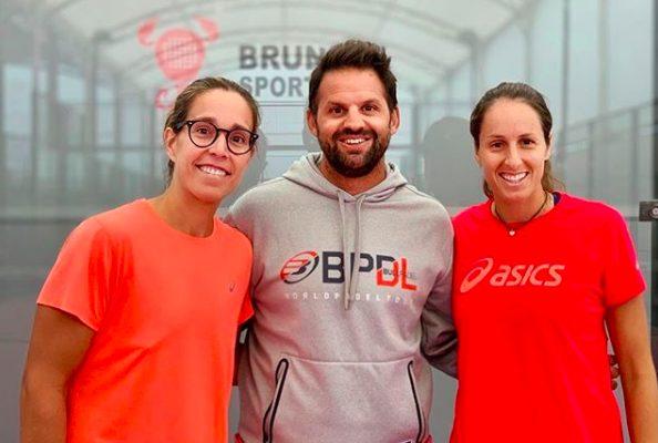 Rodrigo Ovide novo treinador de Gemma e Lucía