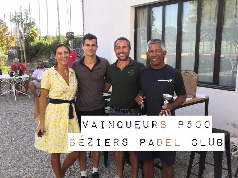 4 tournois en 1 à l´Open du Béziers Padel Club