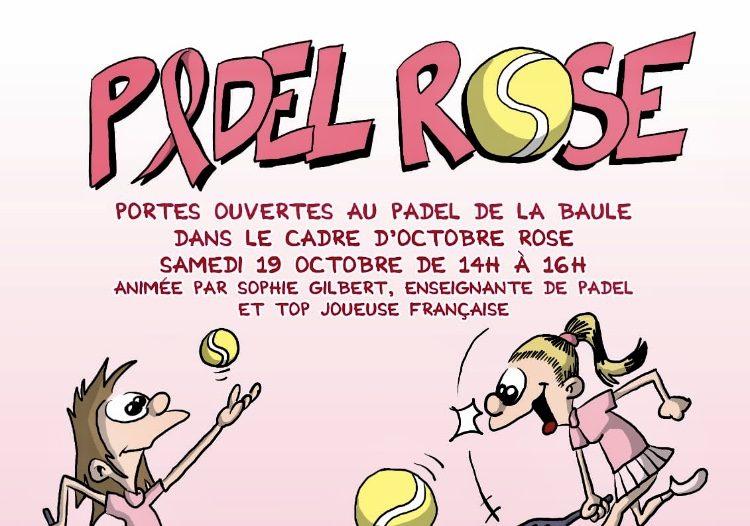 PADEL ROSE : Pour les femmes en rémission de cancer
