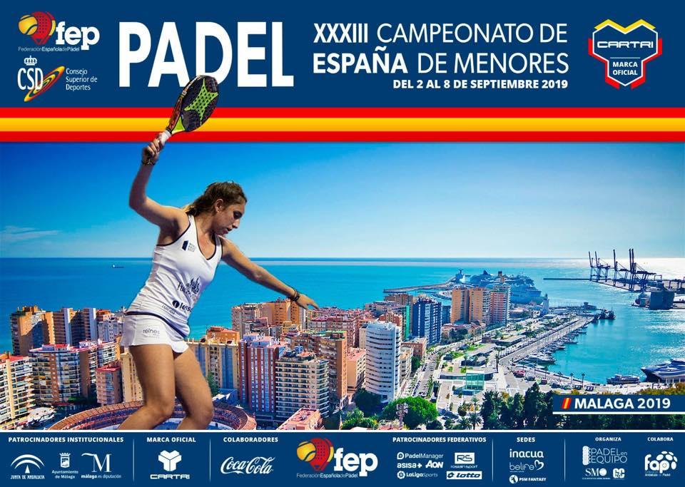 768 paires au championnat d'Espagne de padel des Minores !