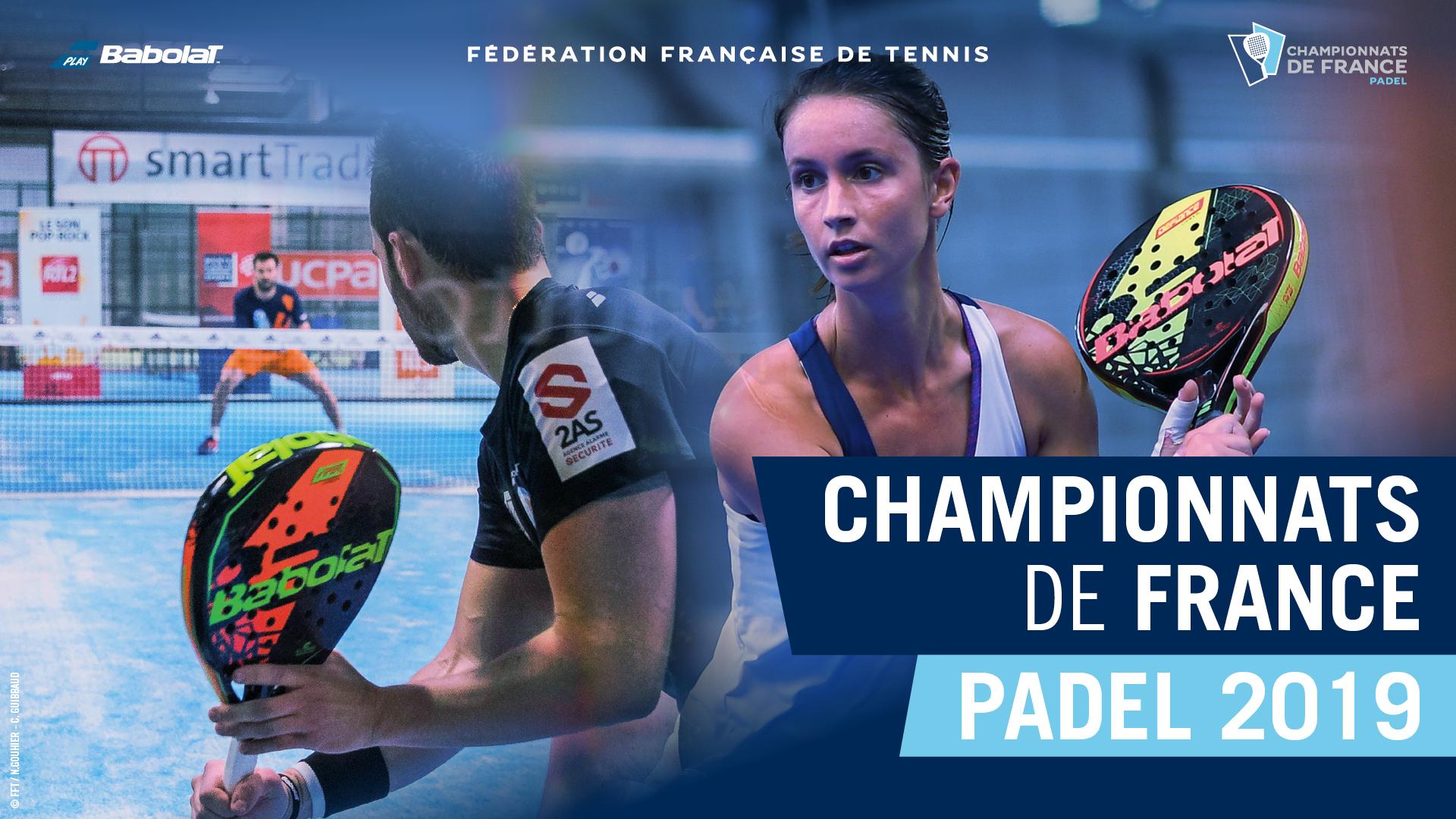 Franska Padel-mästerskap 2019 - Finalen för kvinnor - Collombon / Ginier (ARA) vs Martin / Godallier (PACA)
