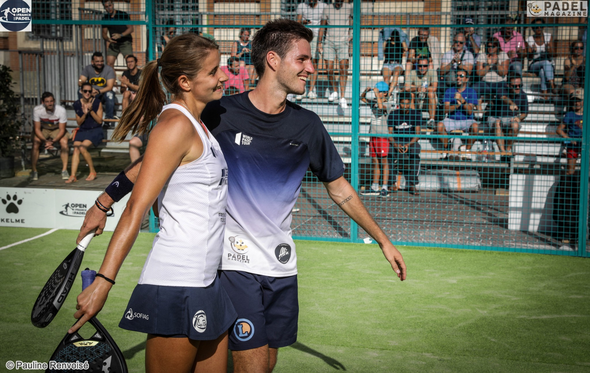 Collombon / Bergeron: The Padel Open de France, un evento increíble