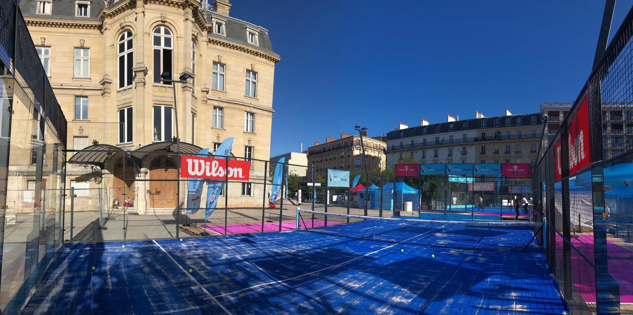 Le FFT Padel Tour Asnières prend ses quartiers