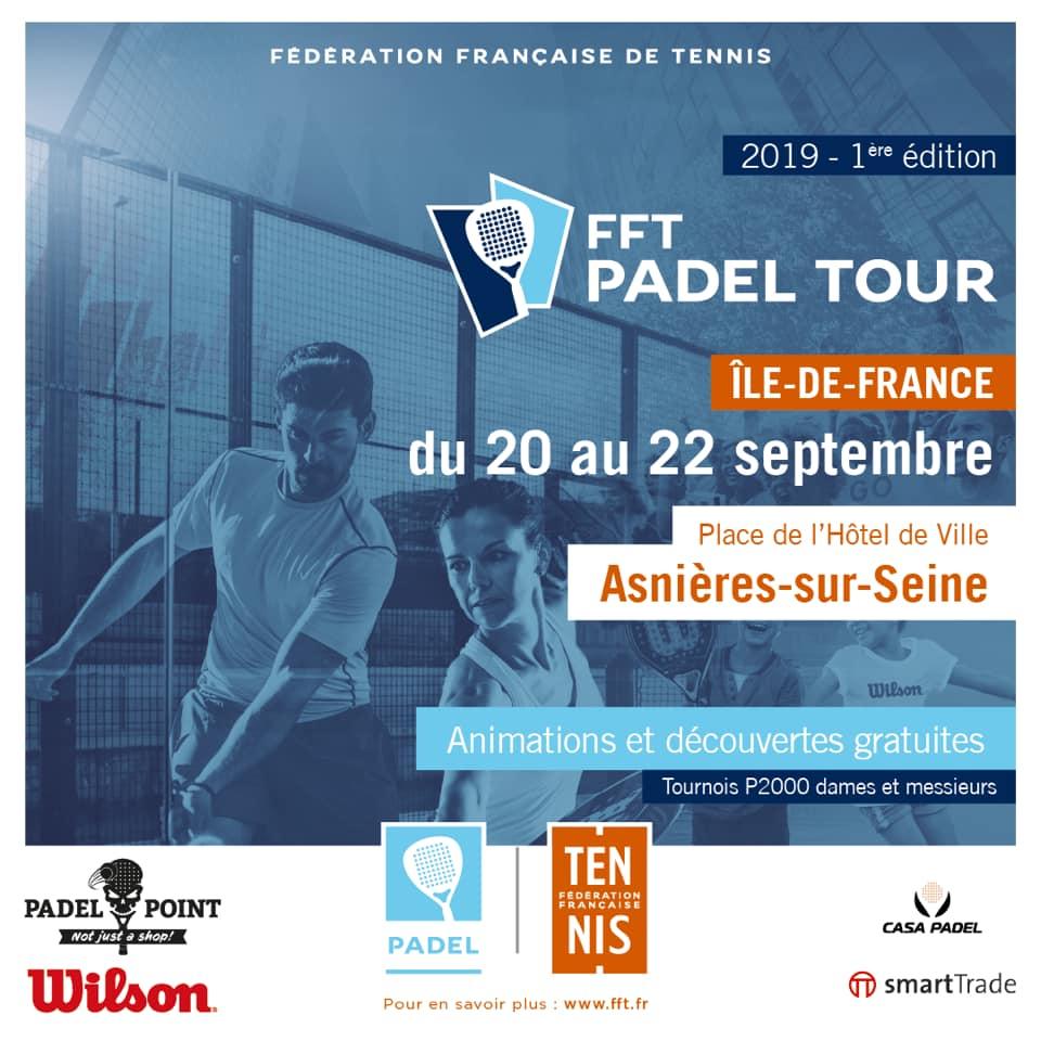 FFT Padel Tour île-de-France : Initiations padel