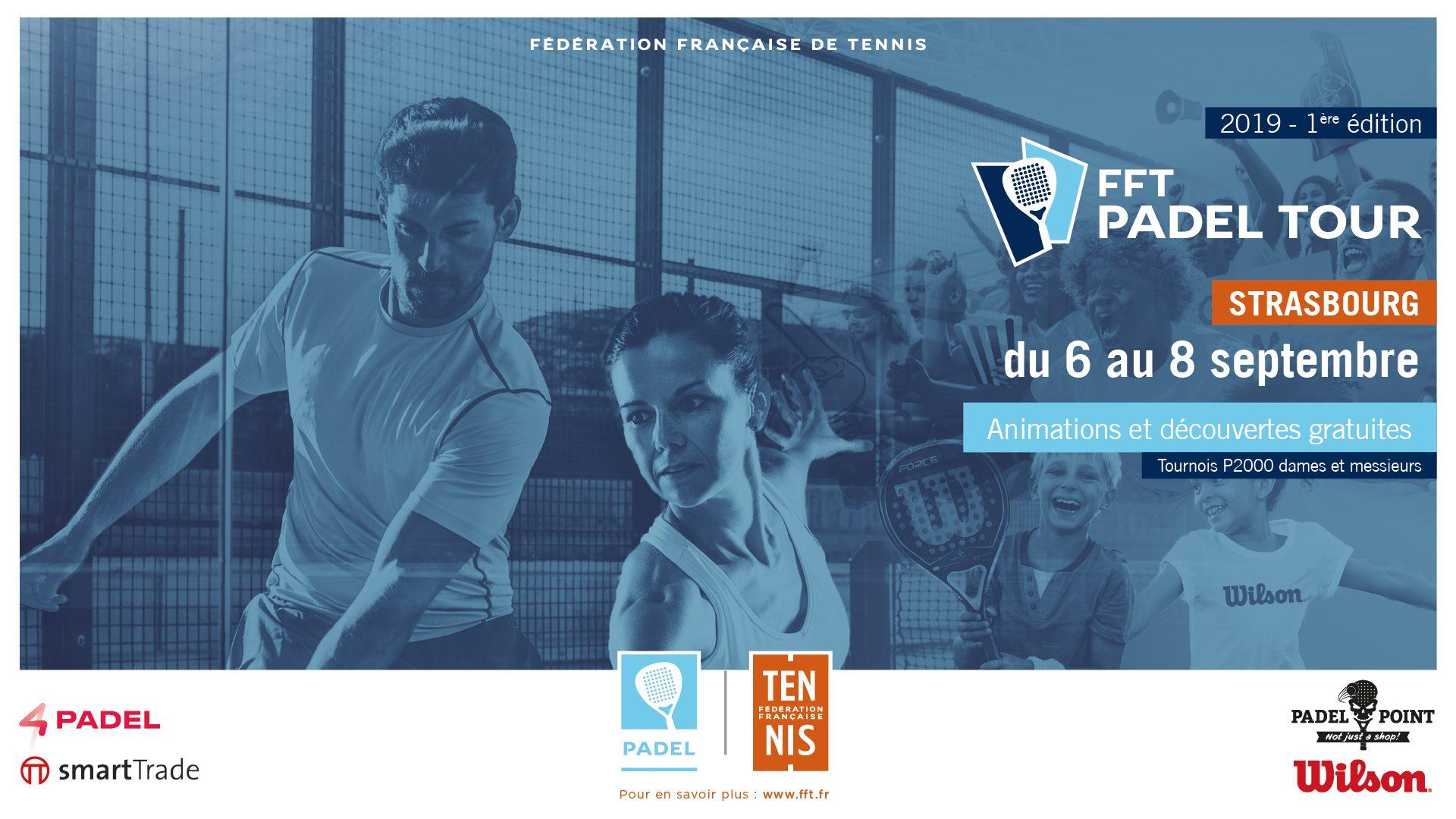 FFT Padel Tour 2019 – Strasbourg – 4PADEL : Finale Dames – Godallier / Martin vs Vandaele / Soubrié