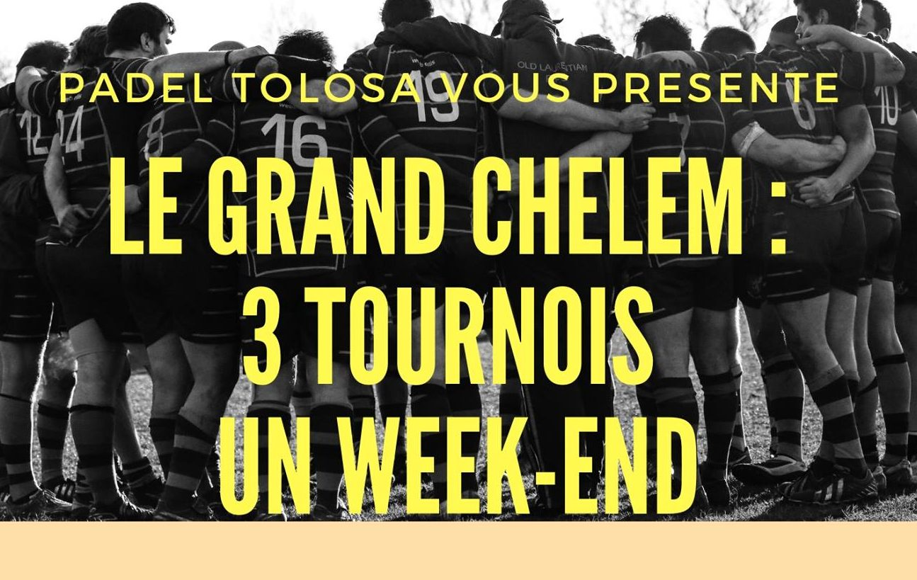 Padel Tolosa achieves the grand slam - September 20 to 22
