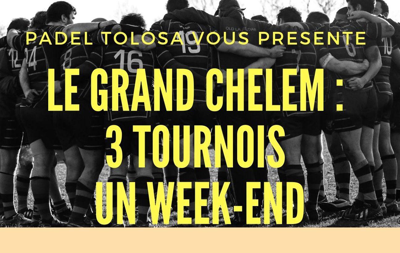 Padel Tolosa réalise le grand chelem – 20 au 22 septembre