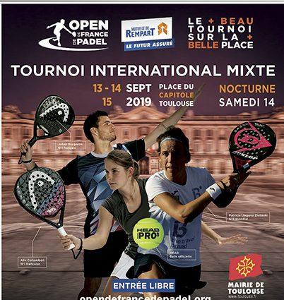 Torneo internazionale misto Padel - Open di Francia 2019