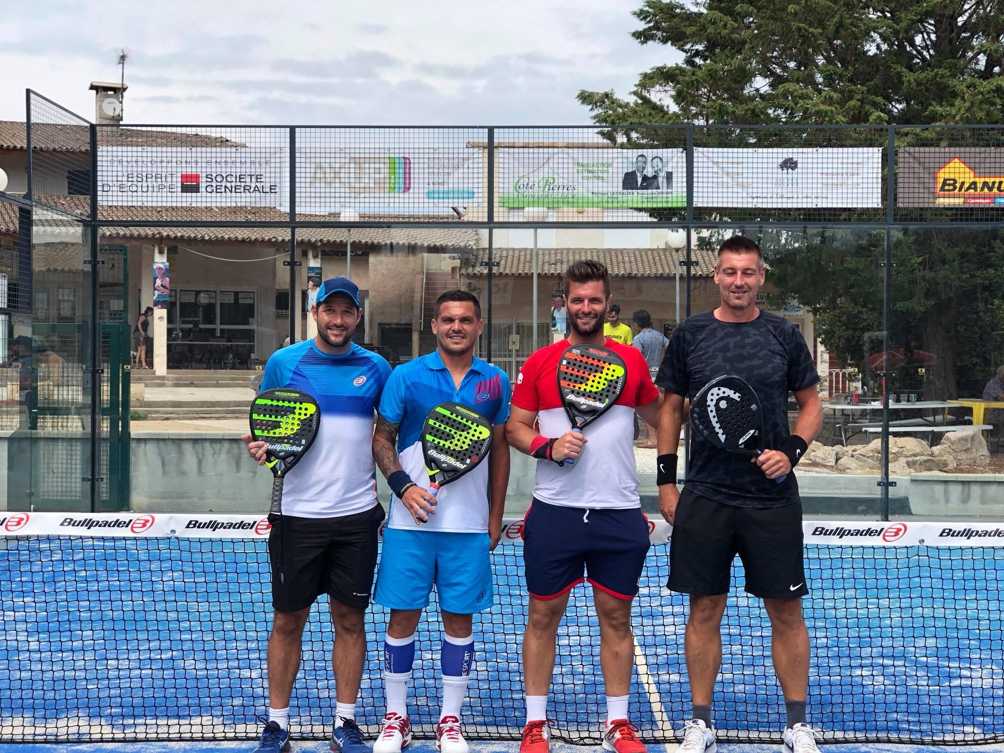 Pottier / Valsot remporte l'HDN Padel club