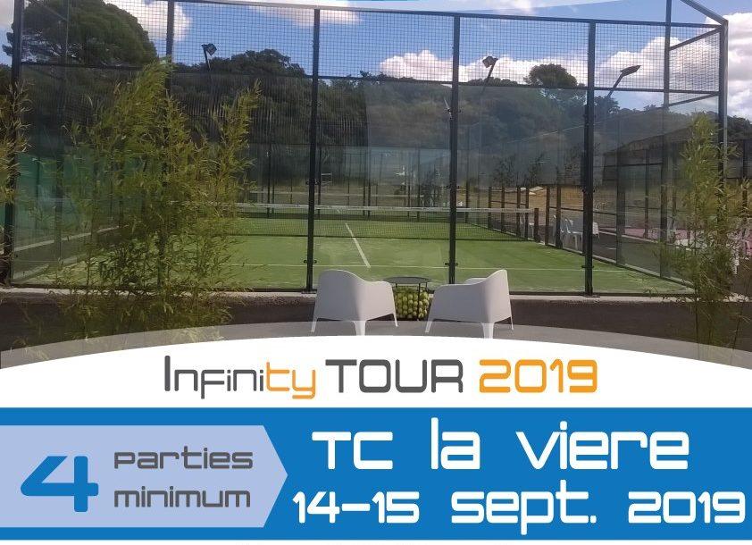 Padel Infinity à la Vière - 14/15 september