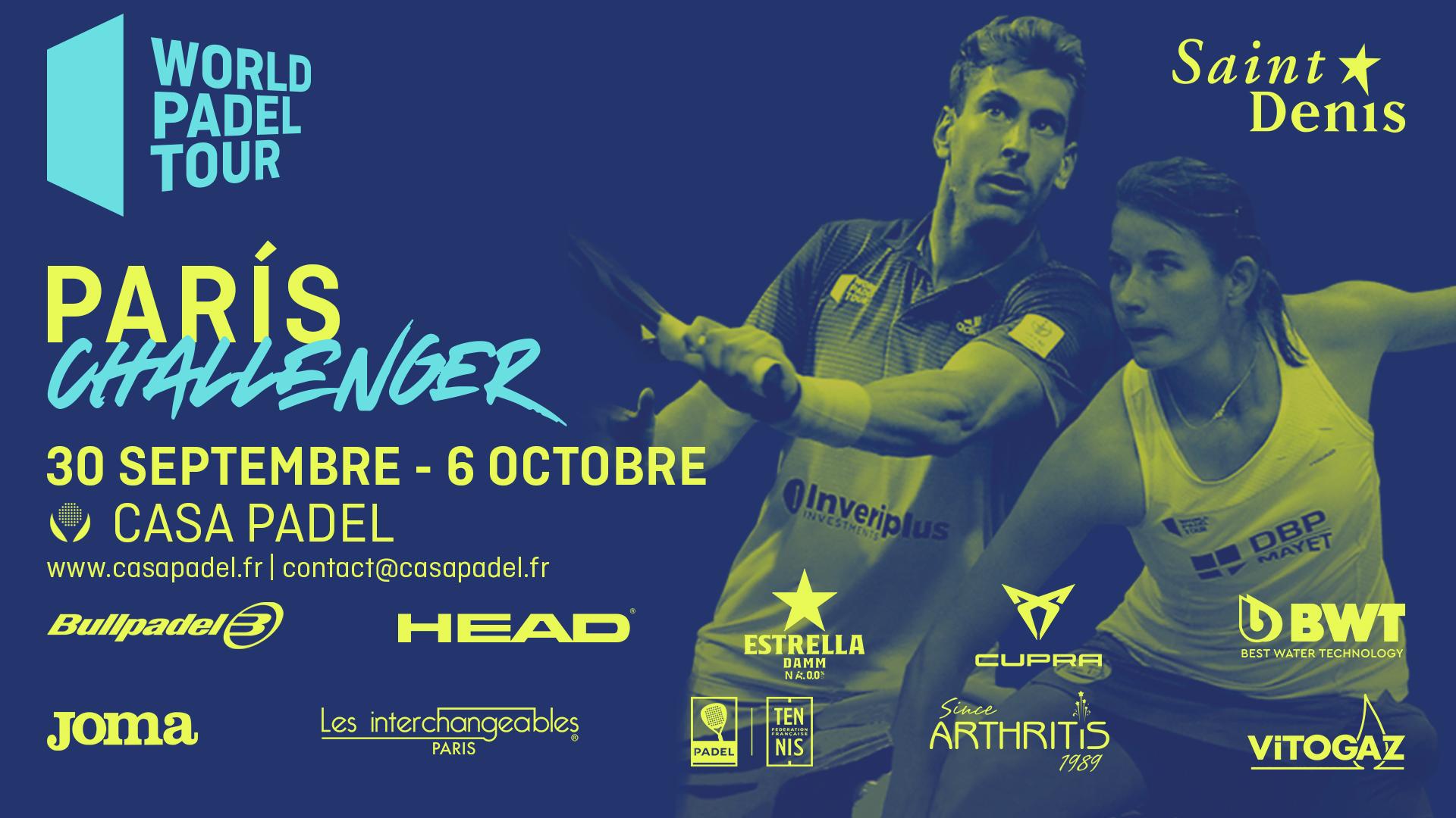 Challenger Paris 2019 – PRE PREVIA Messieurs – Mannarino / Fouquet (FRA) vs Mitjana / Auradou (FRA)
