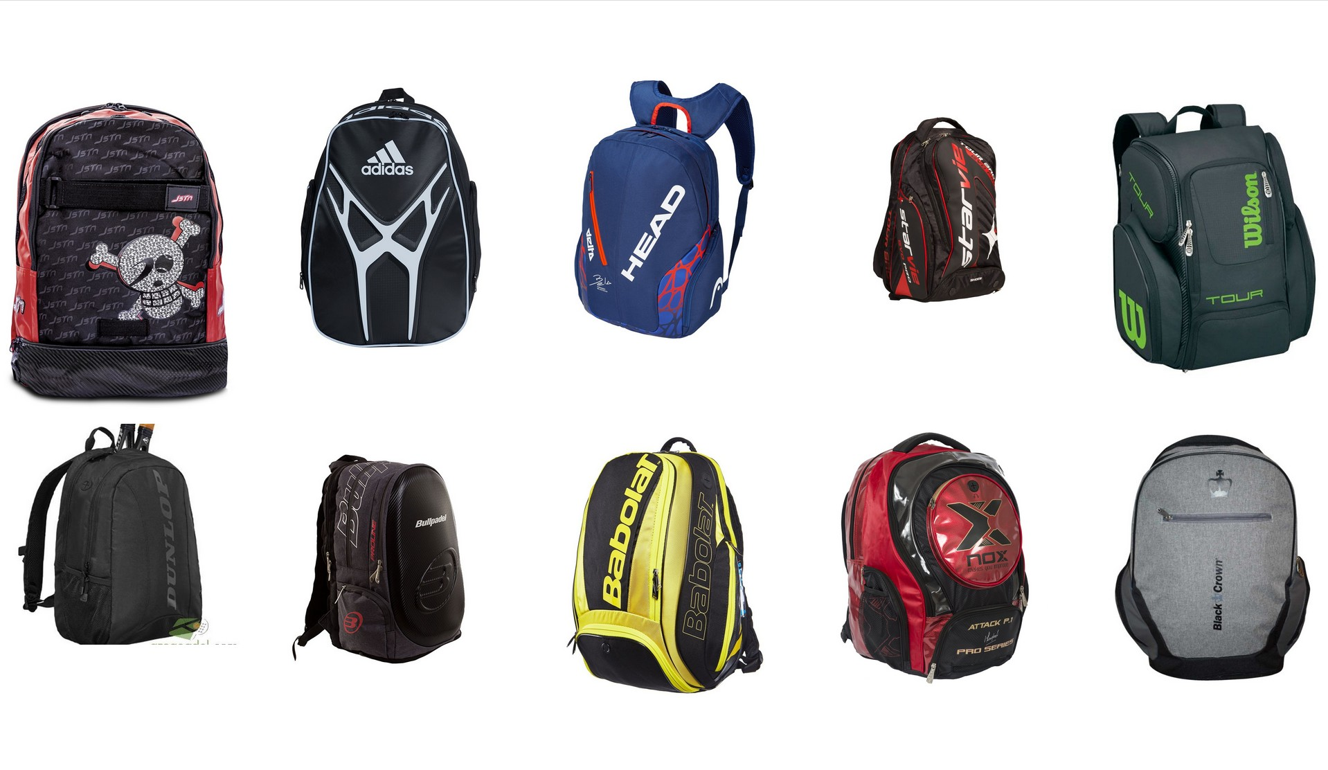11 backpacks for a start to the school year padel