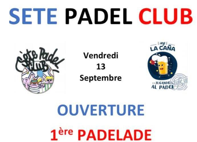 Pierwsza Padelade w Sète Padel Club