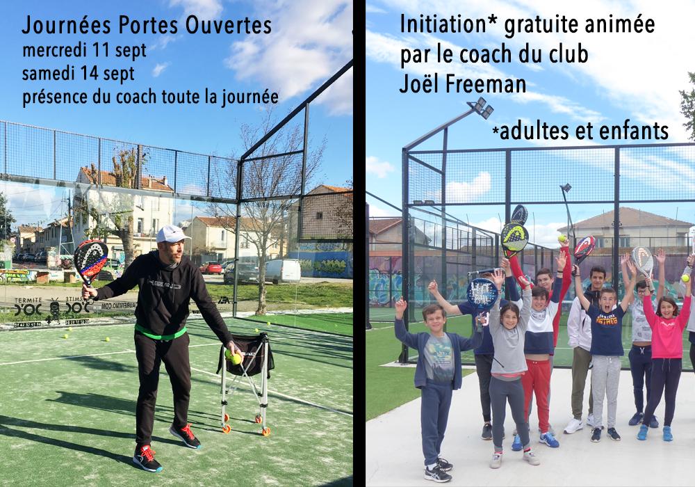Béziers Padel Club : Journées portes ouvertes