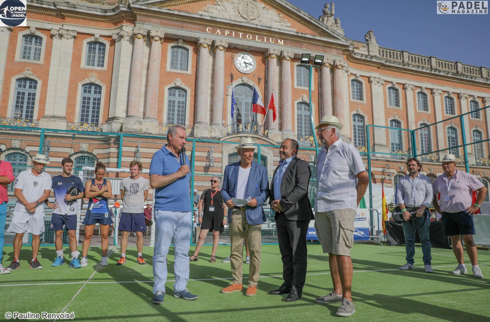 """André Lafenetre : """"Un Open de France de padel impressionnant"""""""