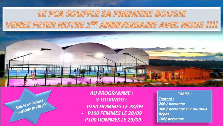 Le padel Club Albigeois fête ses un an !
