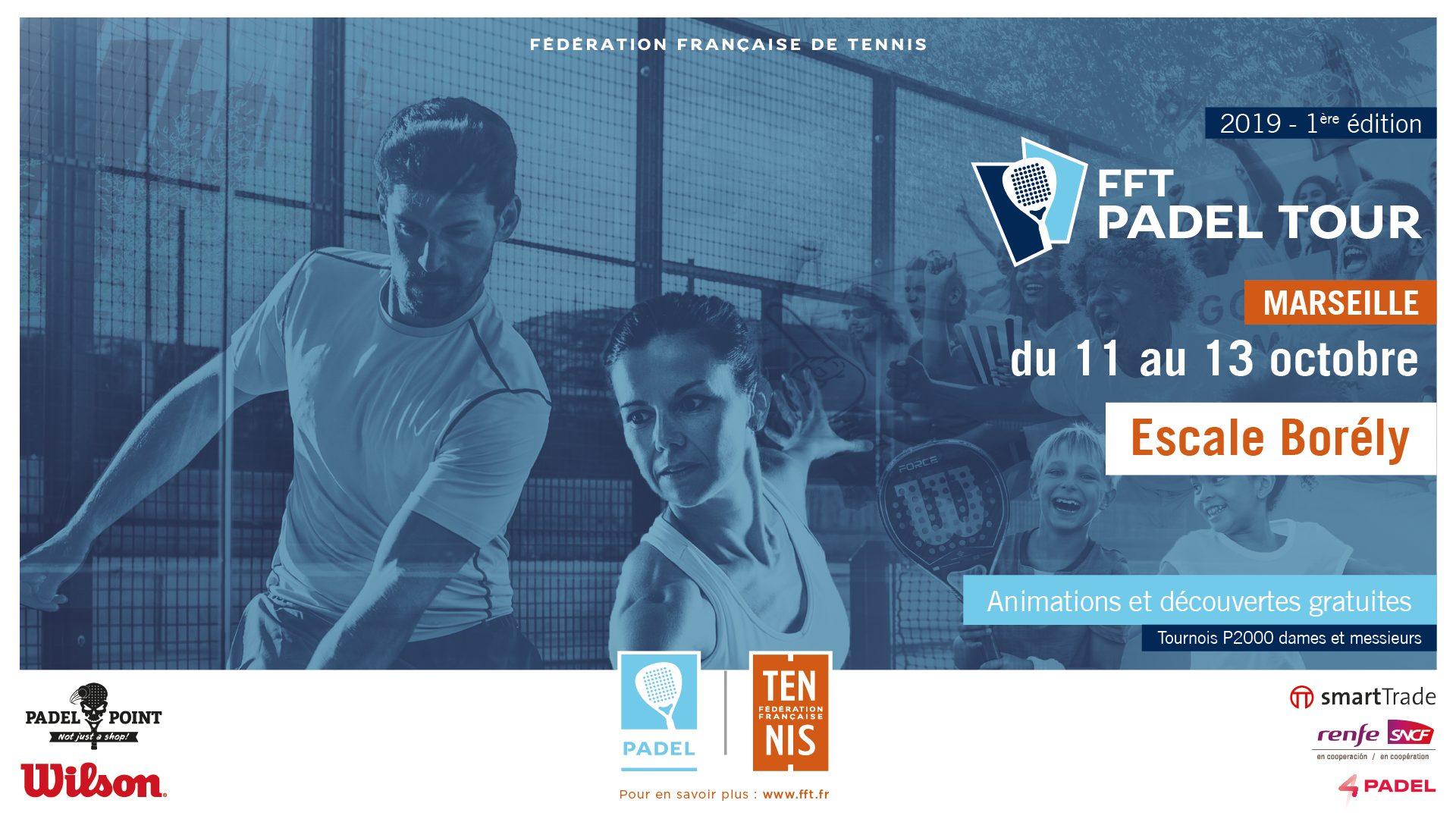 Masters FFT PADEL TOUR Marseille – Places 7 à 8 – Meites / Alquier vs Rivière / De Kermadec