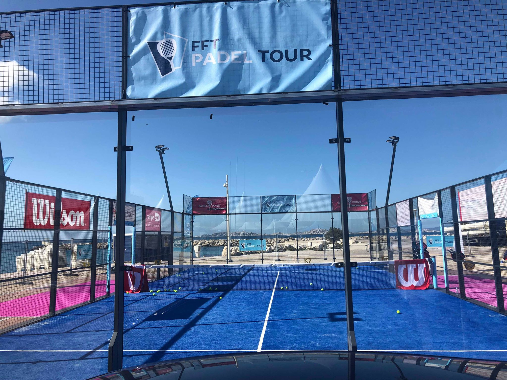 Masters FFT PADEL TOUR MARSEILLE - 1 / 4 Gentlemen - Ritz / Pequery vs. Lopes / Authier