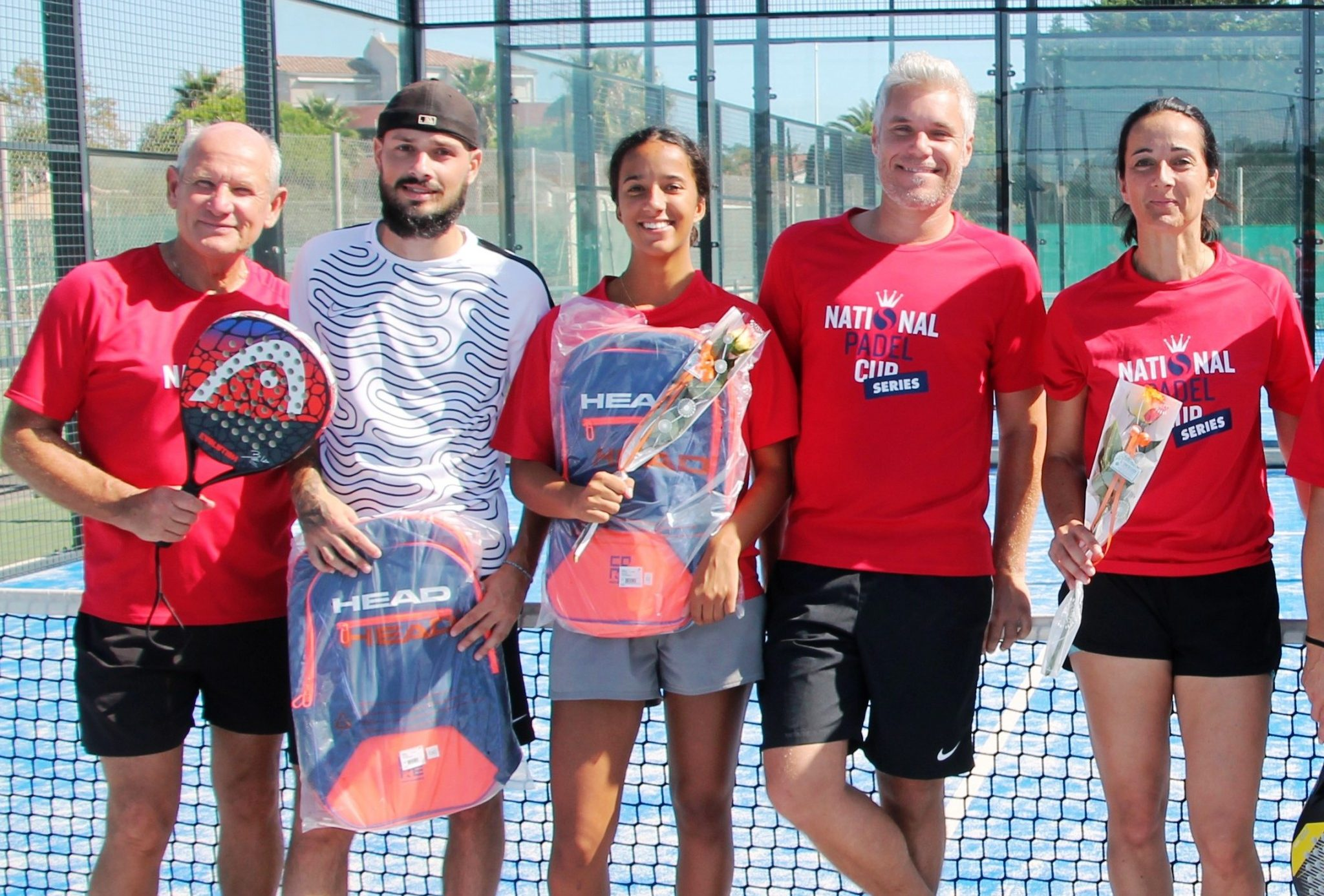 Big winners at the National Padel Cup at Valras Tennis and Padel.