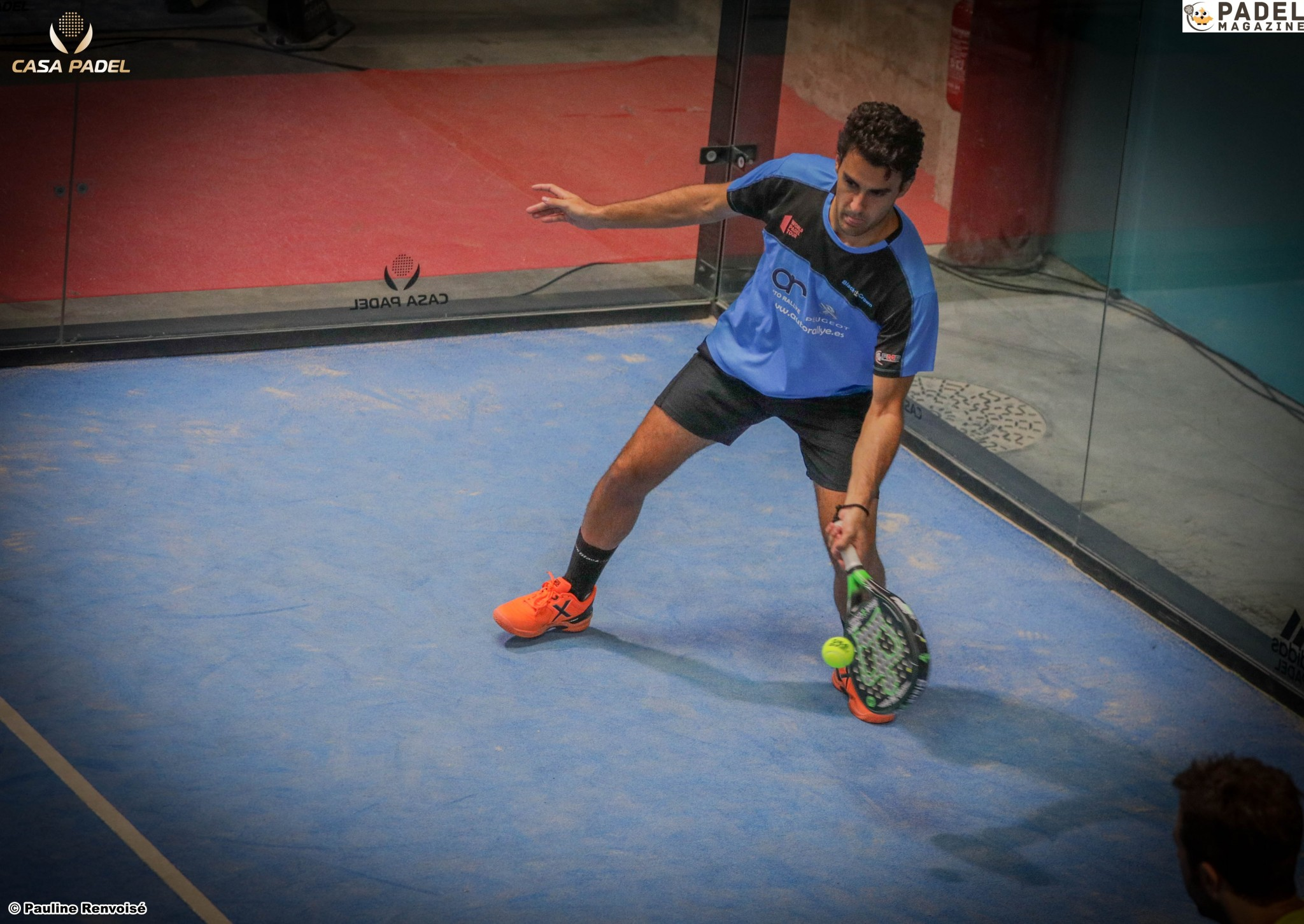 Technique padel : l´importance du premier pas
