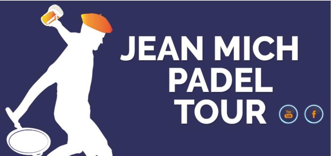 Le Jean Mich Padel Tour est le circuit padel décalé. Un circuit pour les amateurs et joueurs de padel loisirs qui veulent passer un bon moment sur et en-dehors du terrain de padel