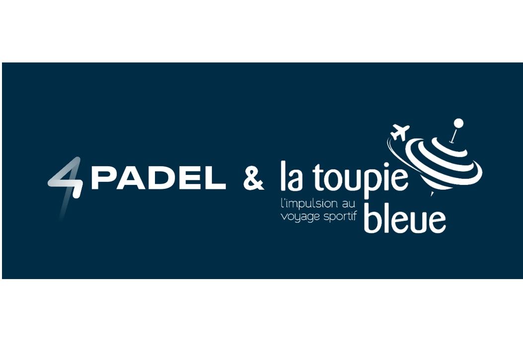 4PADEL e LA TOUPIE BLEUE: verso la Spagna!
