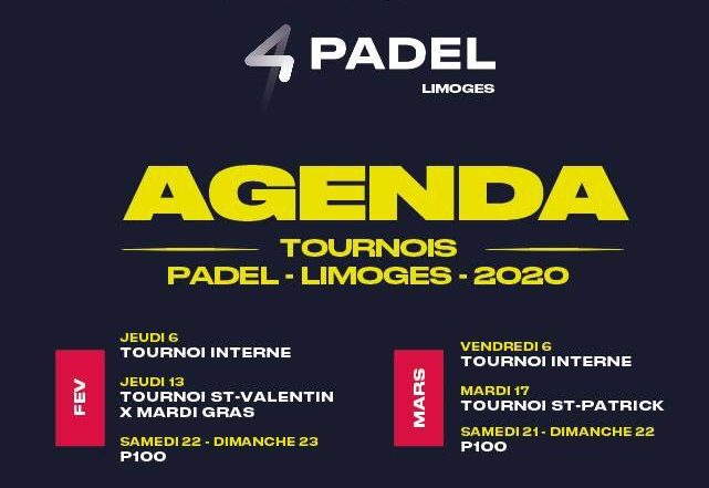 4PADEL Limoges: 3 padel courts!