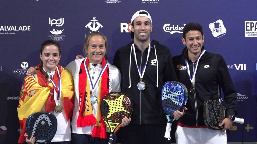 Risultati della coppia della categoria Campionati Europei EPA a Lisbona.