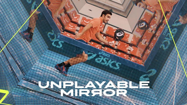 Asics unplayable mirror