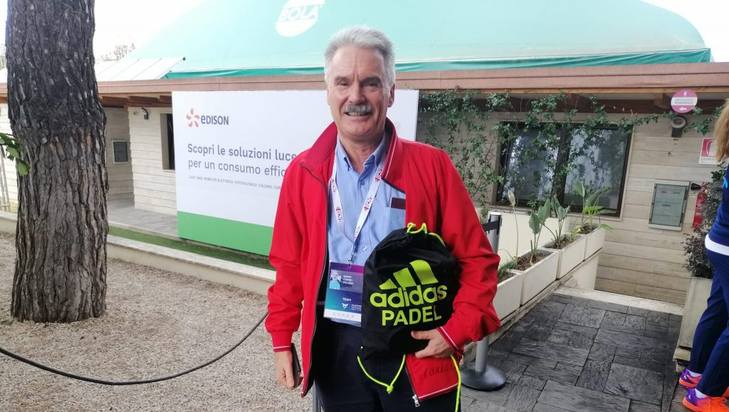 Rencontre avec Barry Coffey, président de l'Irish Padel Association