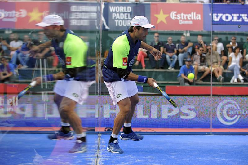 Tutorial Padel: The lob in the center