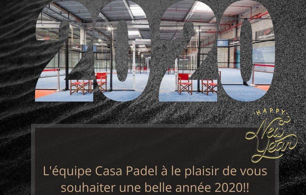 Casa Padel en chiffre et objectifs 2020