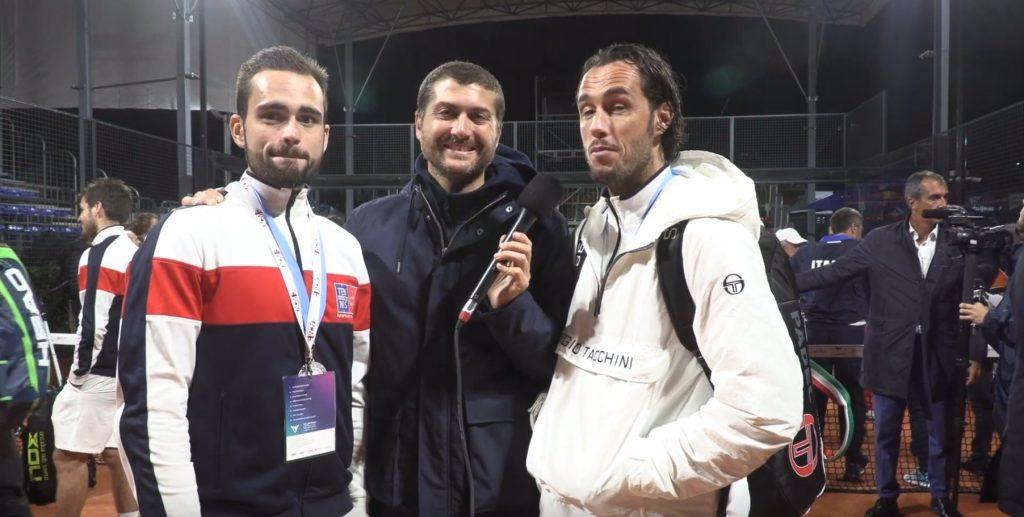 Reazioni di Robin Haziza e Bastien Blanqué con la sconfitta nella finale degli Europei