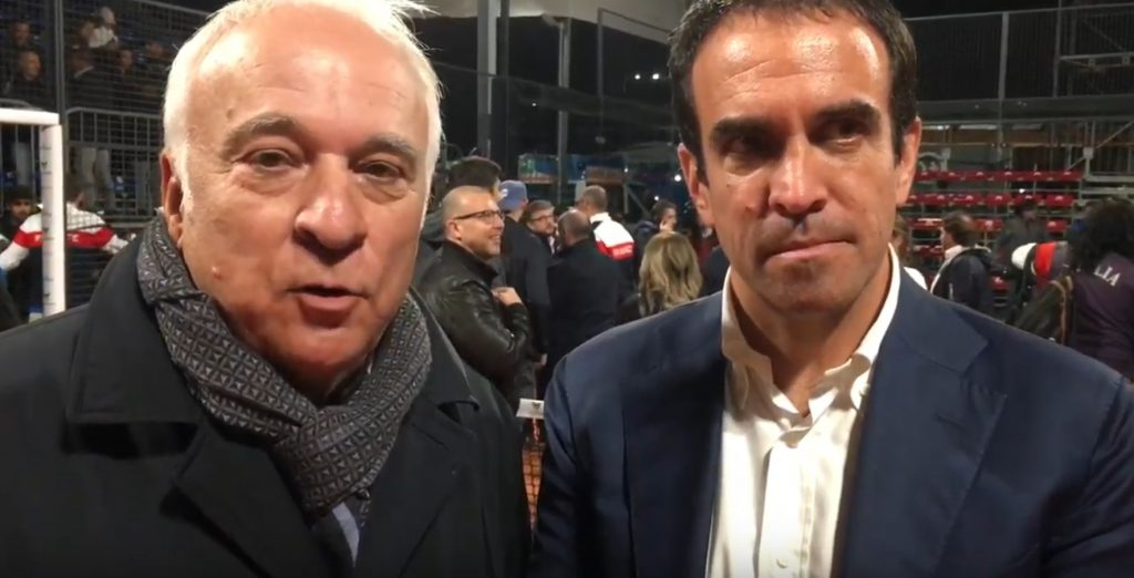 Déclaration de Luigi Carraro et Hubert Picquier après les Championnats d'Europe de Padel