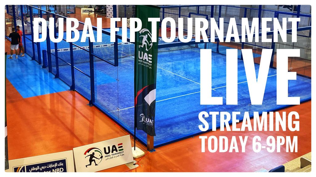 DUBAI FIP RISE - The Padel Szkoła - 1/2 - SCATENA / BERGERON vs FARQUHARSON / LOPEZ