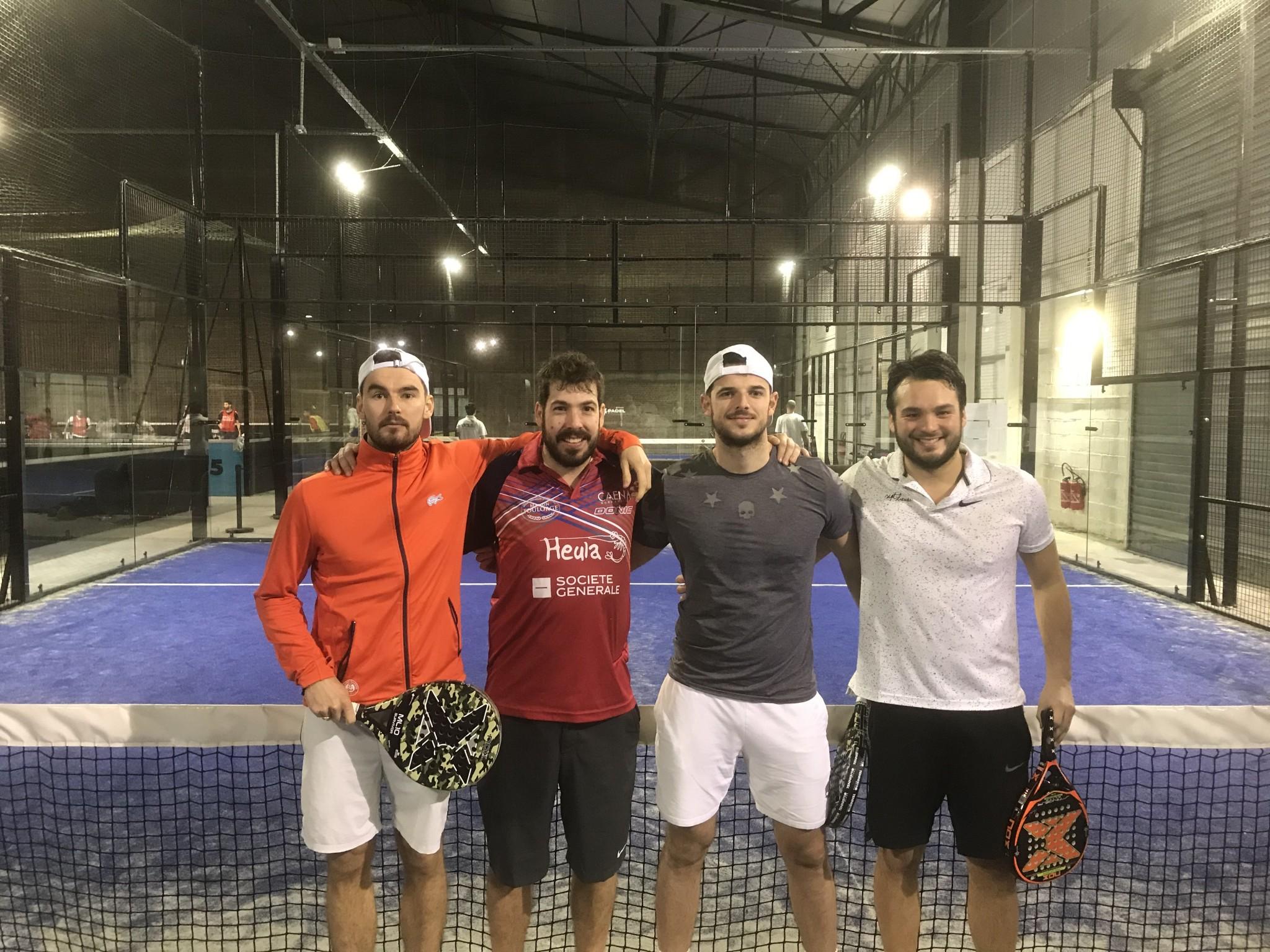 Béziers Padel Klubb och 4Padel Rouen i turneringsläge!