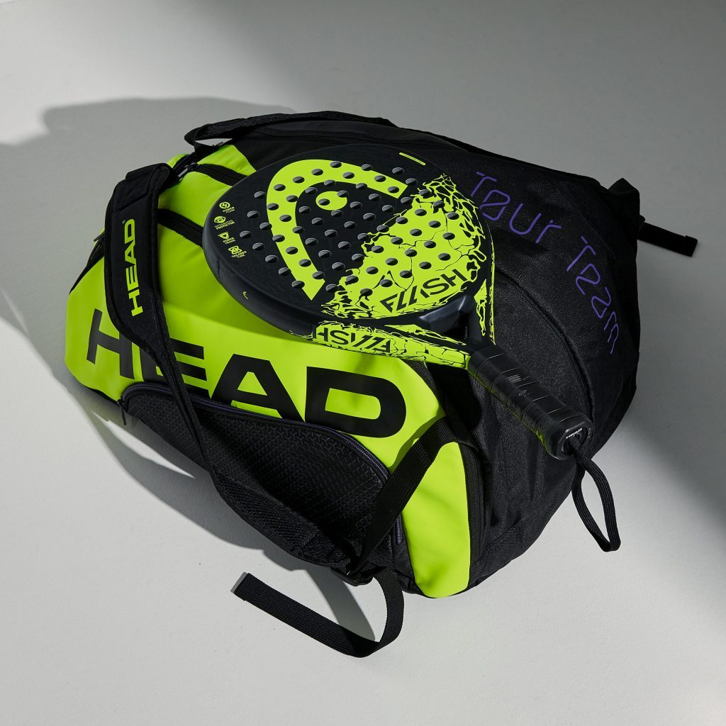 The Head Padel 2020 Bag that sticks to the Flash