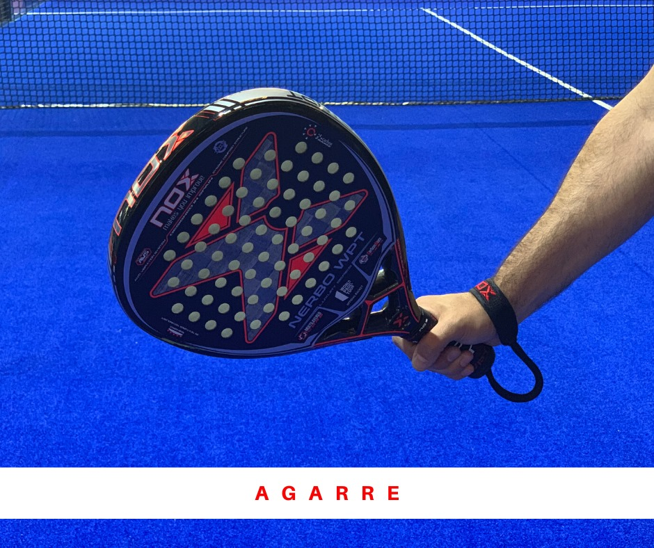 Grip continental padel