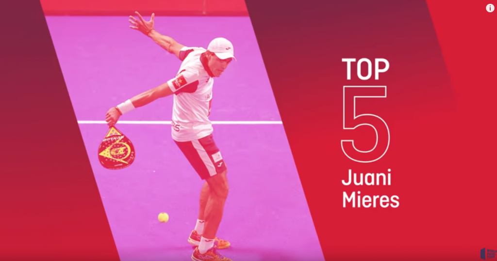 Juani Mieres: His 5 most beautiful points in 2018
