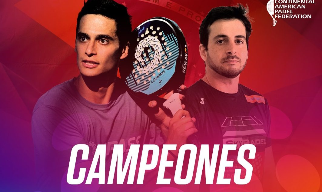 Flores / Julianoti is present at the American Padel Tour 2020
