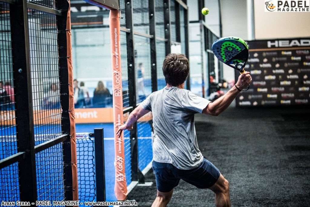Laurent de barbeyrac head padel open sortie padel