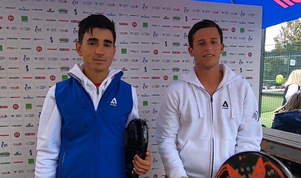 Manuel Rocafort et Alex Barriga