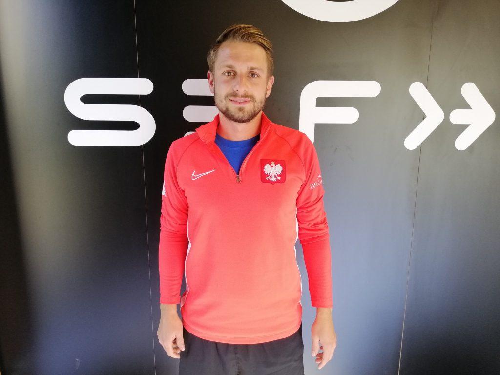 Rencontre avec Mateusz Mironski, capitaine de l'équipe de Pologne