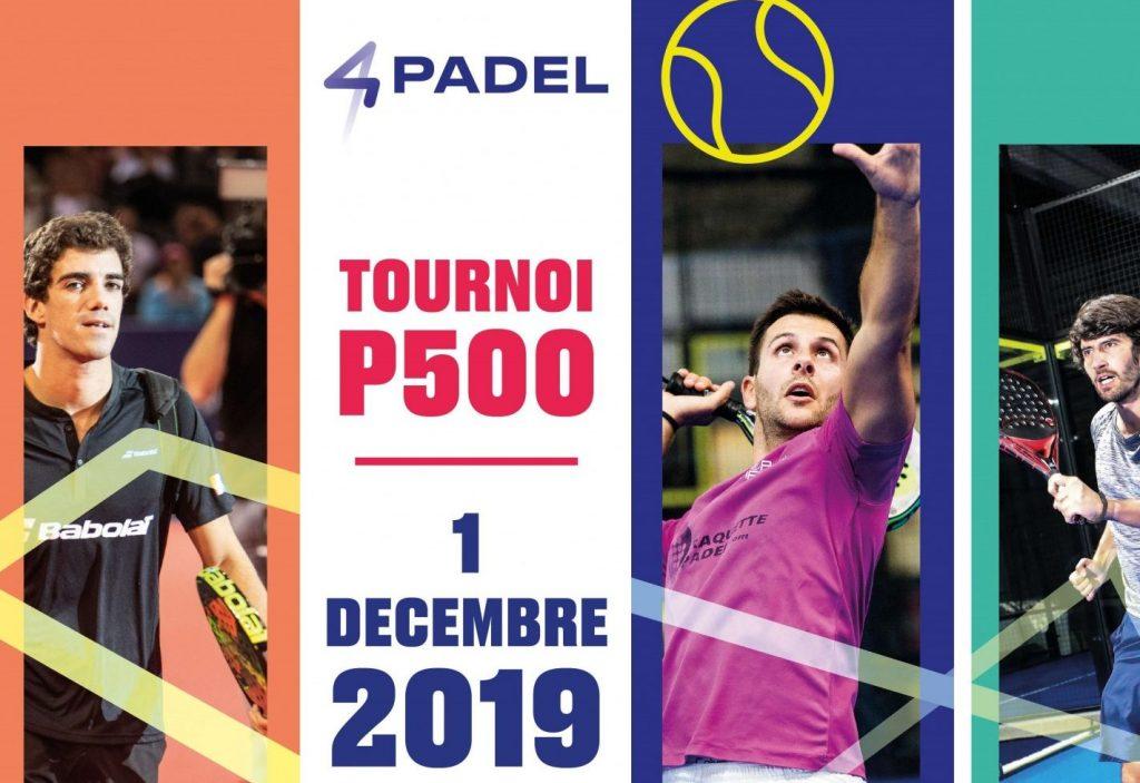 Open 4PADEL Créteil – P500 – 1er Décembre